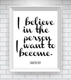 Believe In Who You Are