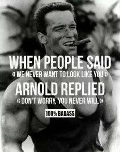 Go Arnold Go!